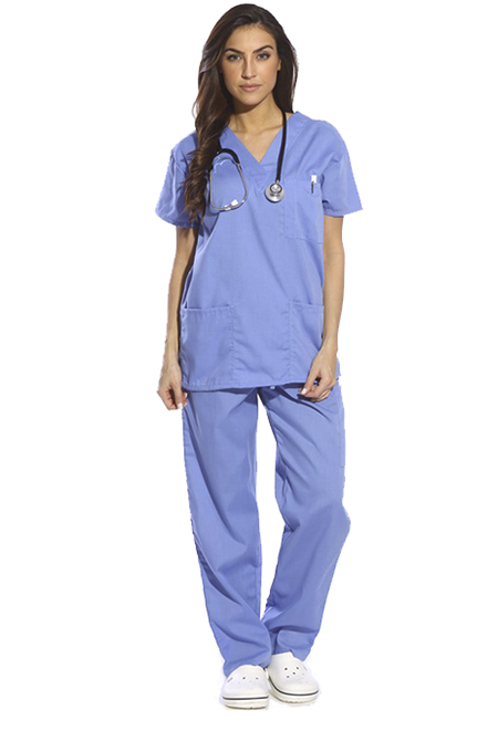 Quality scrubs to look your best when caring for your patients.